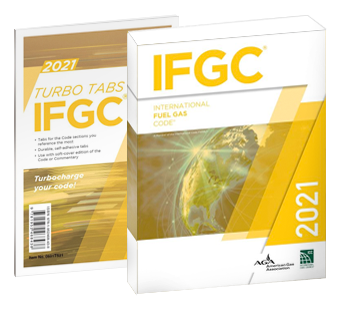 International Fuel Gas Code and Tab Combo