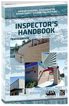 Reinforced Concrete Masonry Construction Inspector's Handbook 10th edition