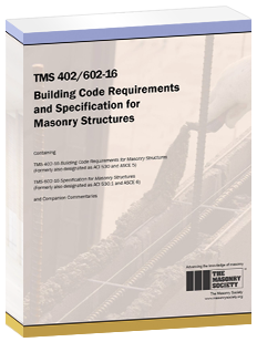 TMS 402/602-16 Building Code Requirements and Specification for Masonry Structures