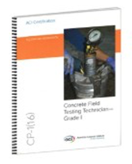 ACI CP-1 Technician Workbook