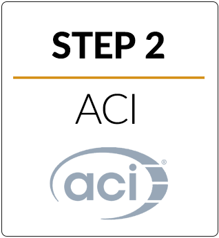 Step 2 ACI Step