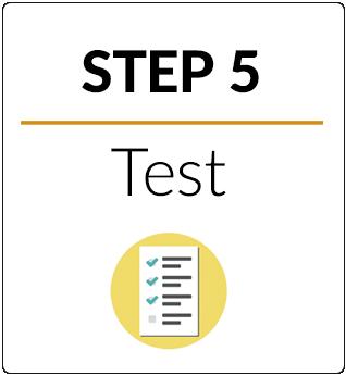 Step 5 Test Step